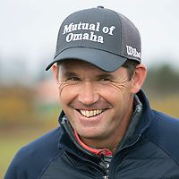 Padraig Harrington at Carnoustie