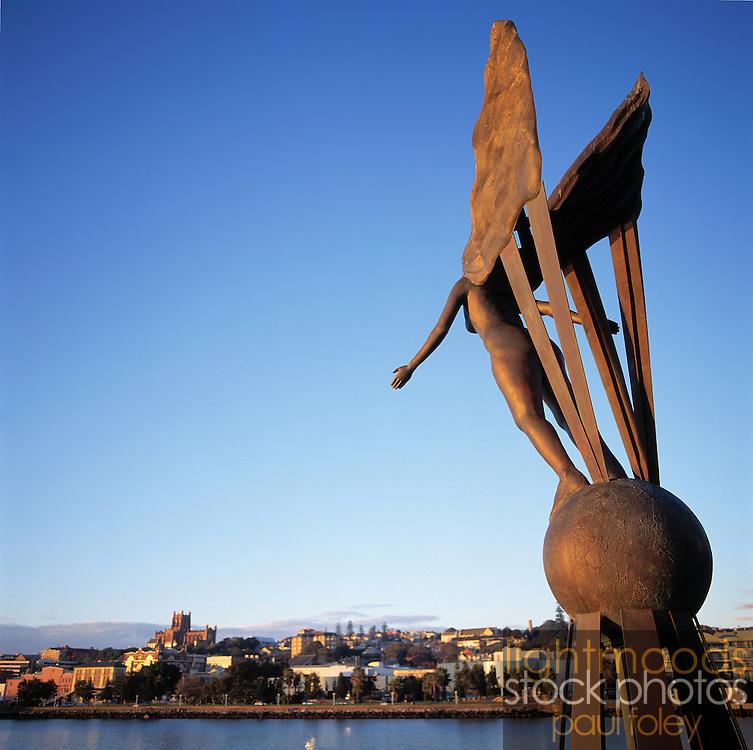 Destiny Sculpture at Newcastle, NSW, Australia