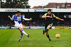 Daniel Leadbitter of Bristol Rovers crosses the ball - Mandatory by-line: Dougie Allward/JMP - 02/12/2017 - FOOTBALL - Memorial Stadium - Bristol, England - Bristol Rovers v Rotherham United - Sky Bet League One