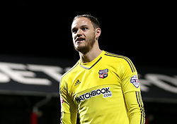 David Button of Brentford - Mandatory by-line: Robbie Stephenson/JMP - 05/04/2016 - FOOTBALL - Griffin Park - Brentford, England - Brentford v Bolton Wanderers - Sky Bet Championship