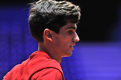 November 22, 2018 - France - Finale Coupe Davis 2018 - Pierre Hugues Herbert - France (Credit Image: © Panoramic via ZUMA Press)