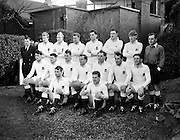 Irish Rugby Football Union, Ireland v England, Five Nations, Landsdowne Road, Dublin, Ireland, Saturday 11th February, 1961,.11.2.1961, 2.11.1961,..Referee- G J Treharne, Welsh Rugby Union, ..Score- Ireland 11 - 8 England, ..English Team, ..J G Willcox, Wearing number 15 English jersey, Full Back, Oxford University Rugby Football Club, Oxford, England,..J Roberts, Wearing number 11 English jersey, Left Wing, Sale Rugby Football Club, Manchester, England,..M P Weston, Wearing number 12 Engish jersey, Left Centre, Richmond Rugby Football Club, Surrey, England, and, Durham City Rugby Football Club, Durham, England, ..A B W Risman, Wearing number 13 English jersey, Right Centre, Manchester University Rugby Football Club, Manchester, England, and, Loughborough College Rugby Football Club, Leicestershire, England,..J R C Young, Wearing number 14 English jersey, Right Wing, Harlequins Rugby Football Club, London, England, ..R A W Sharp, Wearing number 10 English jersey, Right Wing, Oxford University Rugby Football Club, Oxford, England,..R E G Jeeps, Wearing number 9 English jersey, Captain of the English team, Scrum Half, Northhampton Rugby Football Club, Northhampton, England,..C R Jacobs, Wearing number 1 English jersey, Forward, Northhampton Rugby Football Club, Northhampton, England,..E Robinson, Wearing number 2 English jersey, Forward, Coventry Rugby Football Club, Coventry, England,  ..P T Wright, Wearing number 3 English jersey, Forward, Blackheath Rugby Football Club, London, England,  ..R J French, Wearing number 4 English jersey, Forward, St Helens Rugby Football Club, Merseyside, England,  ..J Price, Wearing number 5 English jersey, Forward, Coventry Rugby Football Club, Coventry, England, ..D P Rogers, Wearing number 7 English jersey, Forward, Bedford Rugby Football Club, Bedford, England,  ..W G D Morgan, Wearing number 8 English jersey, Forward, Medicals Rugby Football Club, Newcastle, England,  ..L I Rimmer, Wearing number 6 English jersey, Forward, Bath R