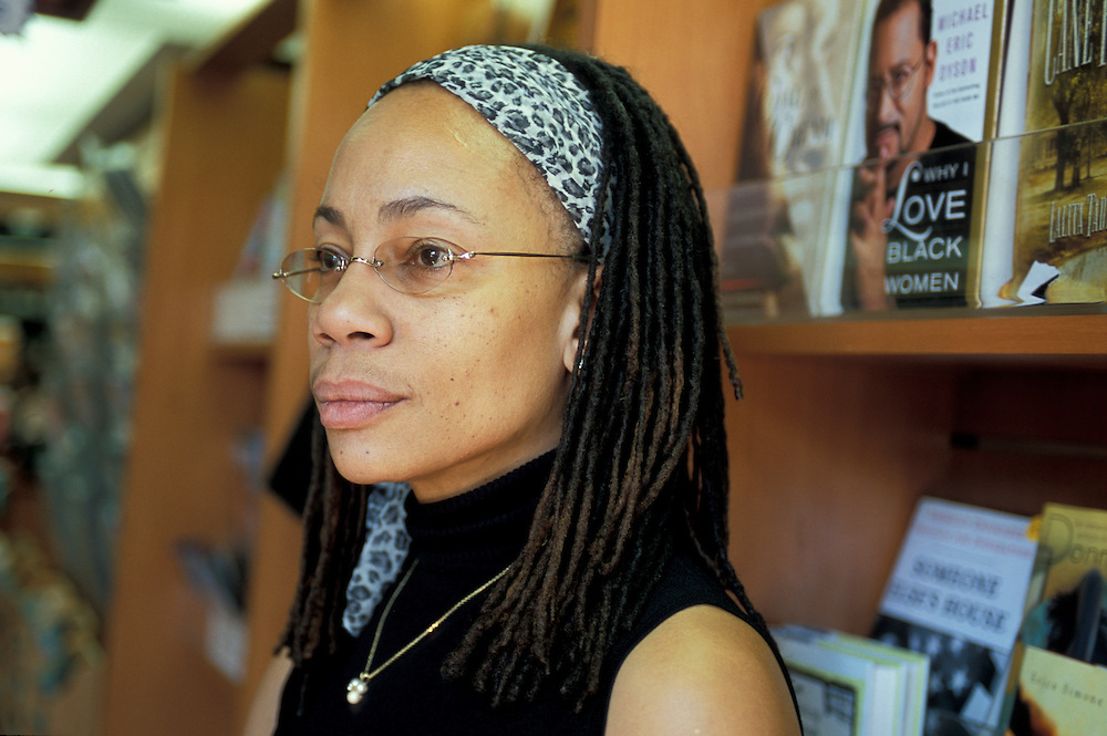 Melanie Boellinger, Manager, HUE-MAN Bookstore and Cafe, Harlem, New York, USA