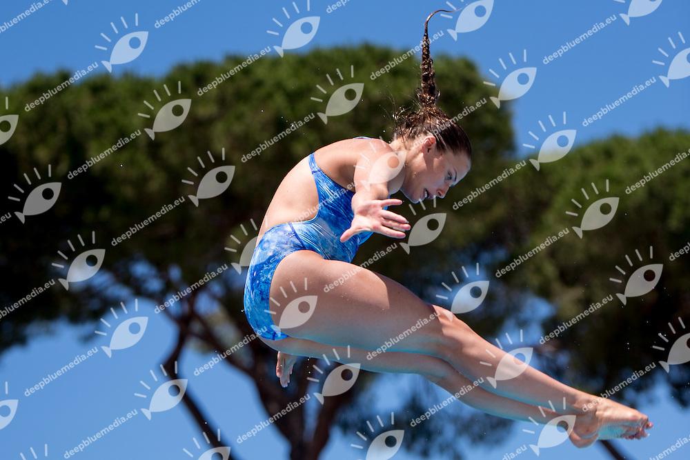 MACMANUS Natasha  IRLIrlanda<br /> 3m springboard trampolino women<br /> Stadio del Nuoto, Roma<br /> FIN 2016 Campionati Italiani Open Assoluti Tuffi<br /> <br /> day 02  21-06-2016<br /> Photo Giorgio Scala/Deepbluemedia/Insidefoto
