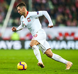 November 15, 2018 - Gdansk, Poland - Grzegorz Krychowiak of Poland during the international friendly soccer match between Poland and Czech Republic at Energa Stadium in Gdansk, Poland on 15 November 2018. (Credit Image: © Foto Olimpik/NurPhoto via ZUMA Press)