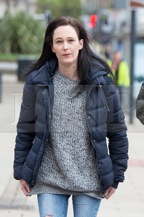 © Licensed to London News Pictures. 02/02/2016. Leeds UK. File picture shows Kim Ager arriving at Leeds Magistrates court for a previous hearing. <br /> Ager & former partner Matthew Ingham are due in court this morning charged with five counts of theft from the children's cancer unit at Leeds General Infirmary. The charges are in connection to the theft of laptop computers from the unit in July last year. Her son Callum was receiving treatment at the unit for an aggressive form of childhood cancer called Neuroblastoma. Photo credit: Andrew McCaren/LNP