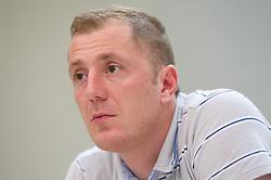 Sanel Konjevic of NK Olimpija at  PrvaLiga draw before new football season 2011/2012 in Slovenia, on June 23, 2011, in Hotel Kokra, Brdo pri Kranju, Slovenia. (Photo by Vid Ponikvar / Sportida)