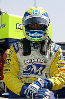 Vitor Meira at the Kentucky Speedway, Kentucky Indy 300, August 14, 2005