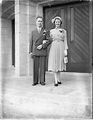 1952 Wedding of Bernard McLeod and Miss Rita Murphy