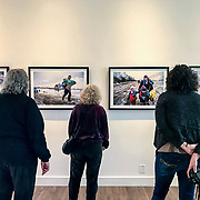 Akbaduna, a solo exhibition of my work on the refugee crisis-AKA Gallery, Portland, OR, 2017.