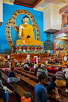 "Russie, Republique de Kalmoukie, Elista, Monastère d'or du Bouddha Shakyamuni // Russia, Republic of Kalmykia, Elista, Buddhist temple: ""Golden Abode of Buddha Shakyamuni"