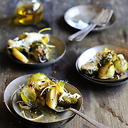 Brussels Sprouts with Lemon and Parmesan Cheese