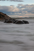 Moeraki Boulders, sunrise, New Zealand