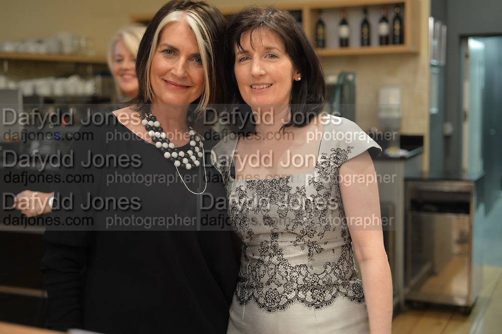 KATHLEEN GARRETT; CATHY O'CONNOR, The Arthur Cox Irish Fashion Showcase 2015,  Irish based designers chosen to be part of this year's Arthur Cox Irish Fashion Showcases The Mall Galleries, London. 13 May 2015.