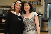 KATHLEEN GARRETT; CATHY O'CONNOR, The Arthur Cox Irish Fashion Showcase 2015,  Irish based designers chosen to be part of this year's Arthur Cox Irish Fashion Showcases The Mall Galleries, London. 13 May 2015.