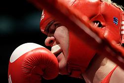Milan, 01-09-2009 ITALY - Aiba World Boxing Championship Milan 2009.  Light Welter 64 kg preliminaries..Pictured: Ignatiev Maksim RUS .Photo by Giovanni Marino/OTNPhotos . Obligatory Credit