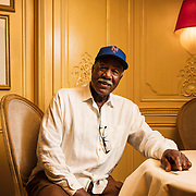 June 26, 2019 - New York, NY : Cleon Jones, who spent most of his career with the New York Mets and played a pivotal role in their 1969 World Series win against the Baltimore Orioles, poses for a portrait at the Hôtel Plaza Athénée in Manhattan on Wednesday afternoon, June 26. CREDIT: Karsten Moran for The New York Times