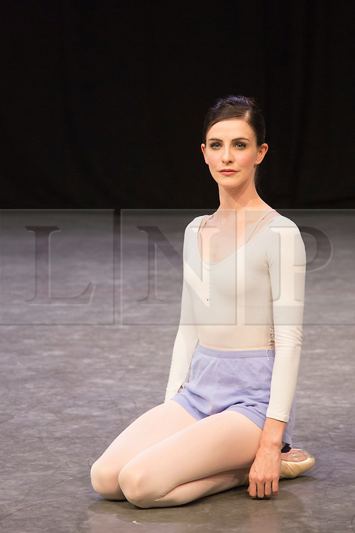 "© Licensed to London News Pictures. 07/08/2015. London, UK. Pictured: Olivia Cowley, Soloist, Royal Ballet who will also perform at ""Dancing for Nepal"". Members of the New English Ballet Theatre rehearse their forthcoming performances for ""Dancing for Nepal"" at the Clore Studio/Royal Opera House. From 20-22 August 2015, the New English Ballet Theatre and special guests will perform at St James Theatre to raise funds for the Nepal earthquake relief effort. Photo credit: Bettina Strenske/LNP"
