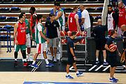 Christian Burns<br /> Raduno Nazionale Maschile Senior<br /> Allenamento Mattutino Trentino Basket CUP<br /> Trento 29/07/2017<br /> Foto Ciamillo-Castoria/ A.Gilardi