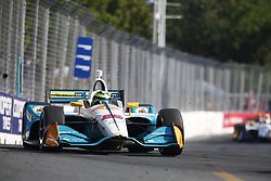July 15, 2018 - Toronto, Ontario, Canada - CONOR DALY (88) of the United States battles for position during the Honda Indy Toronto at Streets of Toronto in Toronto, Ontario. (Credit Image: © Justin R. Noe Asp Inc/ASP via ZUMA Wire)