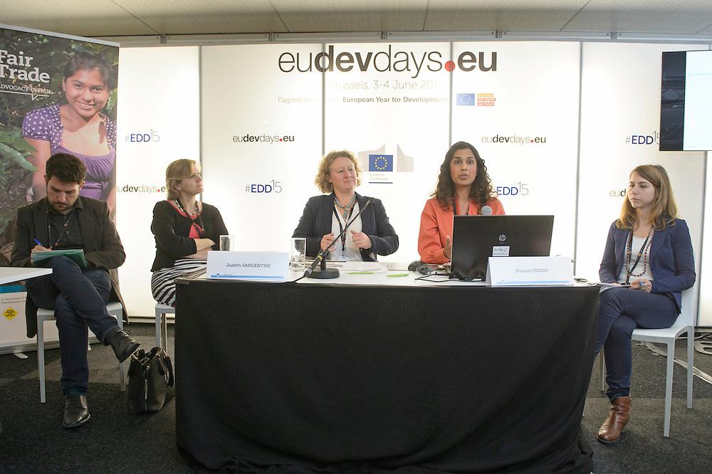 03 June 2015 - Belgium - Brussels - European Development Days - EDD - Trade - Empowering smallholders participation in global supply chains © European Union