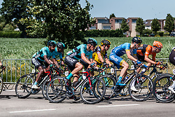 Peloton with Piotr Havik of Beat Cycling at 2018 National Road Race Championships Netherlands for Men Elite, Hoogerheide, The Netherlands, 1 July 2018. Photo by Pim Nijland / PelotonPhotos.com | All photos usage must carry mandatory copyright credit (Peloton Photos | Pim Nijland)
