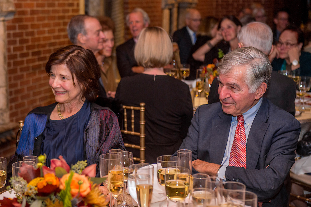November 1, 2015, Boston, MA:<br /> A farewell dinner is held for Museum Director Anne Hawley at the Isabella Stewart Gardner Museum in Boston, Massachusetts Sunday, November 1, 2015.<br /> (Photo by Billie Weiss/Isabella Stewart Gardner Museum)