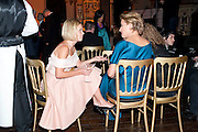 MARIELA FROSTRUP; EMMA THOMPSON, Harpers Bazaar Women of the Year Awards. North Audley St. London. 1 November 2010. -DO NOT ARCHIVE-© Copyright Photograph by Dafydd Jones. 248 Clapham Rd. London SW9 0PZ. Tel 0207 820 0771. www.dafjones.com.