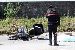 INCIDENTE MORTALE MORTALE POSTINO NICOLA BENETTI COMACCHIO