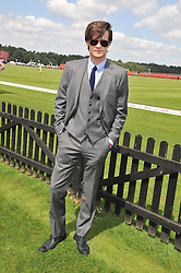 MATT SMITH at the Audi International Polo Day held at Guards Polo Club, Smith's Lawn, Windsor on 22nd July 2012.