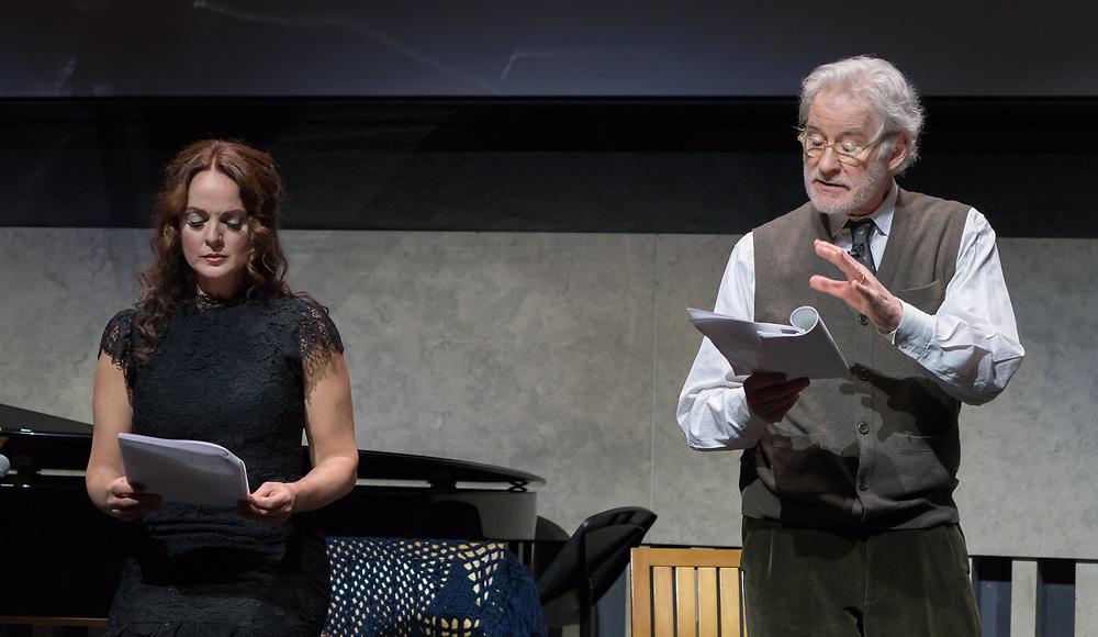 Melissa Errico and Kevin Kline