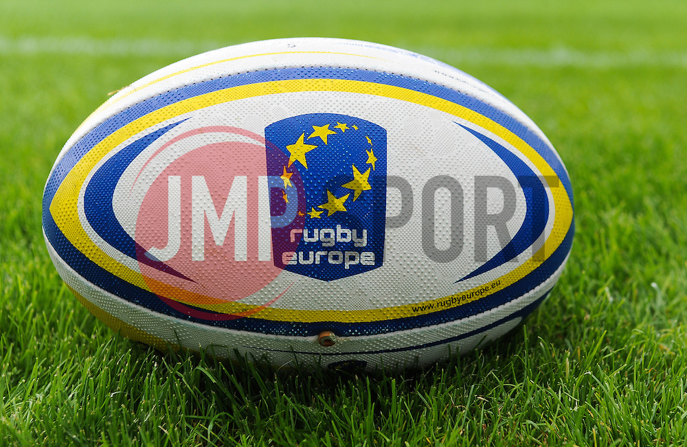 General view of the match ball.  - Mandatory by-line: Alex Davidson/JMP - 09/07/2016 - RUGBY - Sandy Park Stadium - Exeter, England - Rugby v 7's - Mitsubishi Motors European Rugby 7s Grand Prix Series