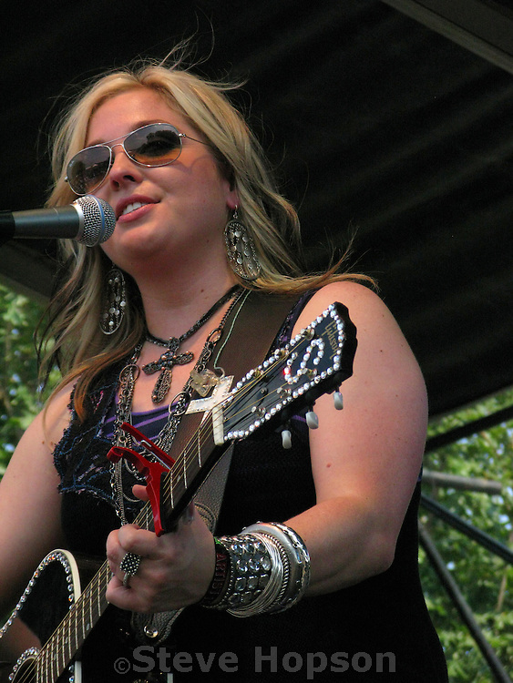 Sunny Sweeney at the Austin City Limits Music Festival, Austin Texas, September 26 2008.