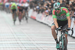 October 14, 2018 - Istanbul, Turkey - Sam Bennett of Ireland and Bora Hansgrohe wins the sixth stage - the Salcano Stage 166.7km from Bursa to Istanbul, of the 54th Presidential Cycling Tour of Turkey 2018. .On Sunday, October 14, 2018, in Istanbul, Turkey. (Credit Image: © Artur Widak/NurPhoto via ZUMA Press)