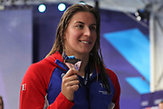 Charlotte Bonnet (French) during the Swimming European Championships Glasgow 2018, at Tollcross International Swimming Centre, in Glasgow, Great Britain, Day 7, on August 8, 2018 - Photo Laurent Lairys / ProSportsImages / DPPI