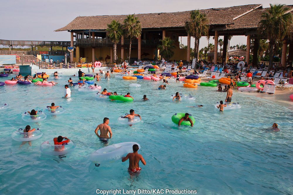 Schlitterbahn Water Park, South Padre Island, Texas, USA,