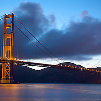 A view of Golden Gate Bridge from Crissy Fields  in San Francisco.  Mandatory Credit: Dinno Kovic / Dinno Kovic Photography