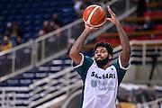 Travor Lacey<br /> AEK Atene - Dinamo Banco di Sardegna Sassari<br /> FIBA Basketball Champions League 2016/2017<br /> Atene 08/11/2016<br /> Foto Ciamillo-Castoria