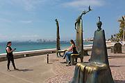The Rotunda on the Sea by Alejandro Colunga, The Malecon, Puerto Vallarta, Jalisco, Mexico