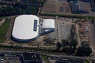 Leeuwarden - Luchtfoto nieuwe Elfstedenhal