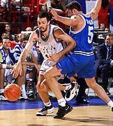 Francia 02/07/1999<br /> Campionati Europei di Basket Francia 1999<br /> Italia-Jugoslavia<br /> Andrea Meneghin e Predrag Danilovic