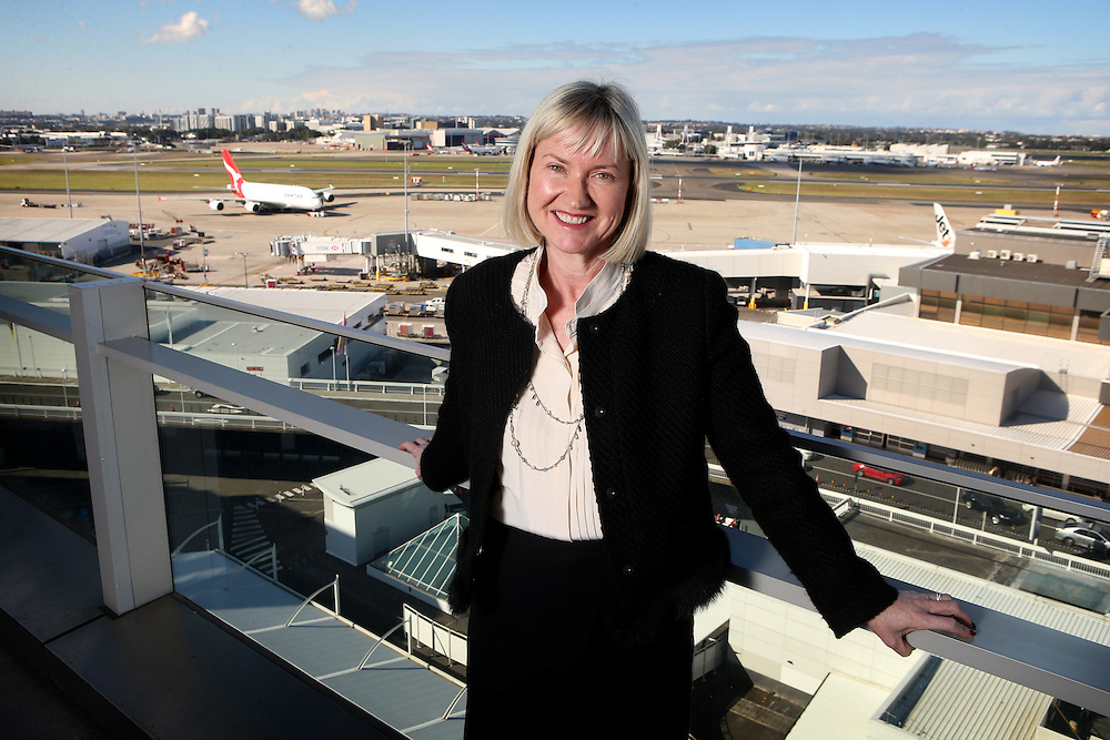 Kerrie Mather, CEO of Sydney Airport .