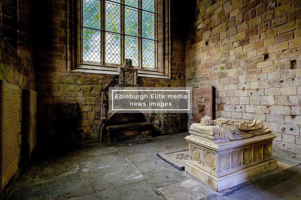 The burial vault of the Earls of Lothian in Jedburgh Abbey, Jedburgh, Scottish Borders<br /> <br /> (c) Andrew Wilson   Edinburgh Elite media