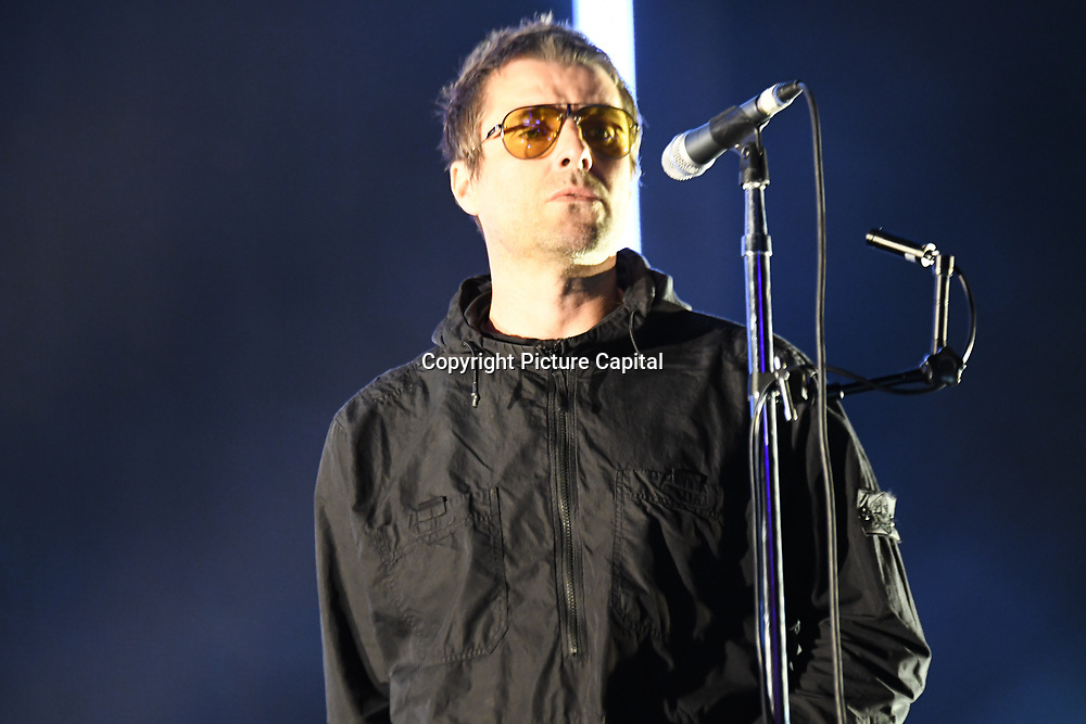 Liam Gallagher at RiZE Festival 2018 at RiZE Festival 2018 at Hylands Park, Chelmsford on 17 August 2018, UK.