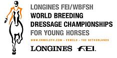 Ermelo - Weltmeisterschaft Junge Dressurpferde 2018