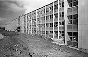 13/04/1964<br /> 04/13/1964<br /> 13 April 1964<br /> Exterior of new university buildings at Belfield. The Chemistry Department.