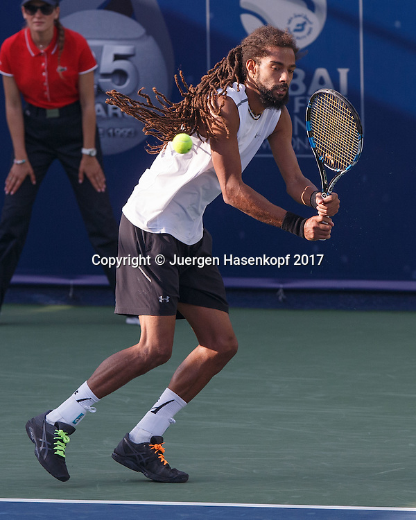 DUSTIN BROWN (GER)<br /> <br /> Tennis - Dubai Duty Free Tennis Championships - ATP -  Dubai Duty Free Tennis Stadium - Dubai -  - United Arab Emirates  - 28 February 2017. <br /> &copy; Juergen Hasenkopf