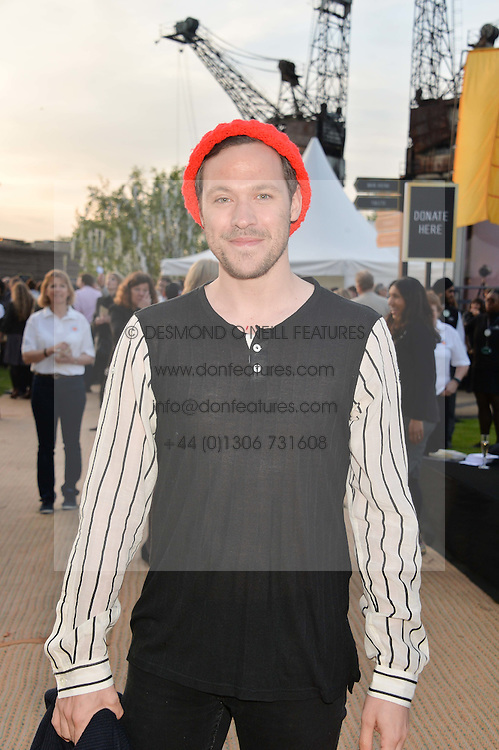 WILL YOUNG at the Battersea Power Station Annual Party at Battersea Power Station, 188 Kirtling Street, London SW8 on 30th April 2014.