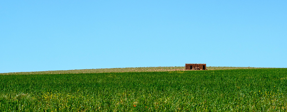 A small building makes for an interesting landscape , southern Morocco<br /> <br /> (c) Andrew Wilson | Edinburgh Elite media