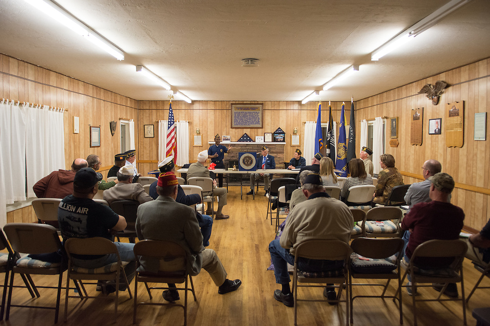 American Legion Post 1 in Reno, Nev. holds a System Worth Saving town hall on Tuesday, March 8, 2016. Photo by David Calvert /The American Legion.